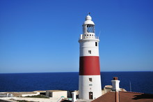 Lighthouse At The Southernmost Point Of Gibraltar
