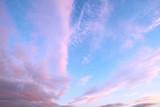 Fototapeta Tęcza - Chmury na niebie