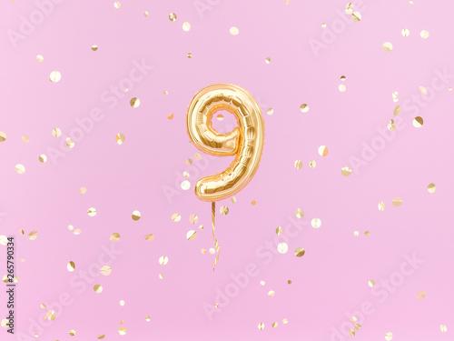 Tela  Nine year birthday