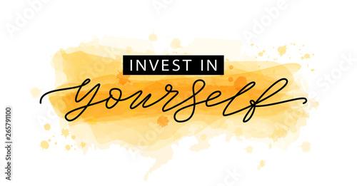 Cuadros en Lienzo Invest in yourself