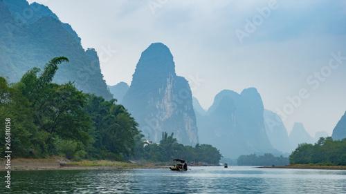 Fotobehang Guilin UpStream