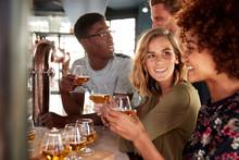 Group Of Friends Beer Tasting ...