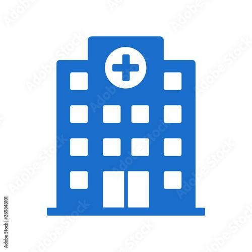 Hospital building icon Fototapet