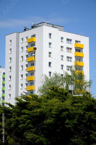 Apartamentowiec - fototapety na wymiar