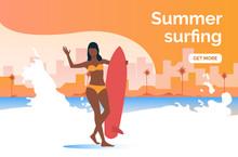 Summer Surfing Get More Presen...