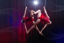 Circus Actress Acrobat Perform...