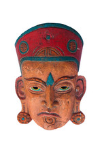 African Wooden Mask. African W...