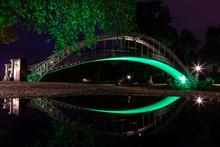 Bedford Suspension Bridge Refl...