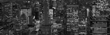 New York City At Night Background