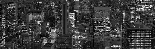 Fototapeta New York City at night Background obraz