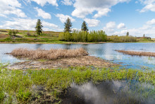 Farm Pond At Fishtrap Recreation Area
