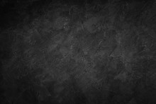 Dark Black Stone Texture Backg...