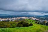 Thunderstorm over Mount Diablo and Highway 24