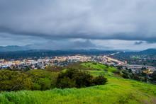 Thunderstorm Over Mount Diablo...