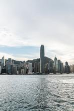 Hong Kong City Buildings Skyline