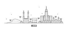 Mecca Makkah Skyline Saudi Ara...