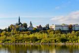 Fototapeta Miasto - Wisła w Sandomierzu
