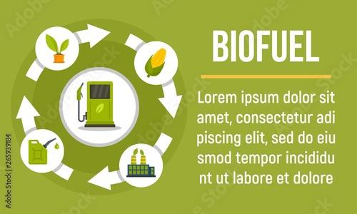 Photo Biofuel concept banner