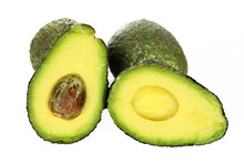 Haas Avocado Isolated On A White Studio Background