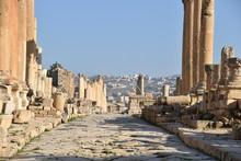 Cardo Maximus 1, Jerash Archaeological Park, Jordan
