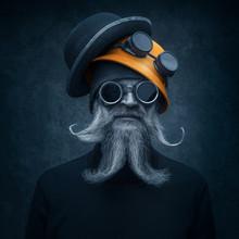 Portrait Of A Bearded Man In W...