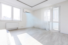 Modern Bright Room With Air Co...