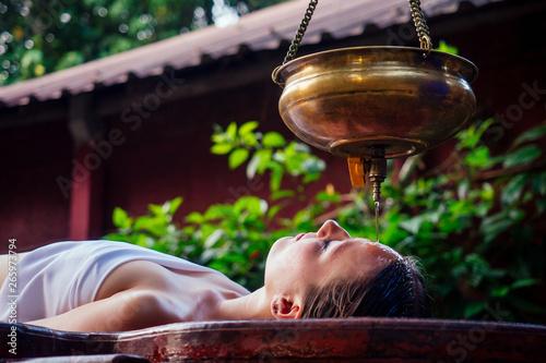 ayurveda massage alternative healing therapy Wallpaper Mural