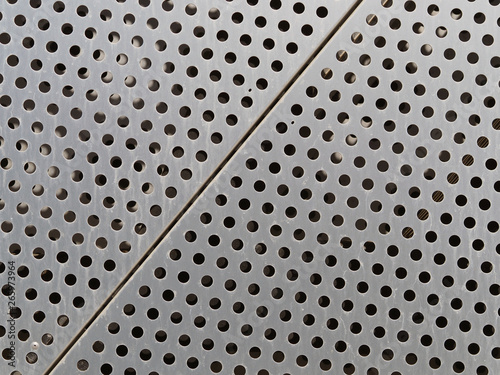 Fototapety, obrazy: Metal decorative panels for the facade. Metal texture background