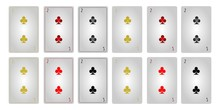Game Cards Two Of Clubs Withou...
