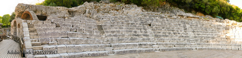 Photo Butrint - Ruins of the ancient city Buthrotum, ancient Greek and later Roman cit