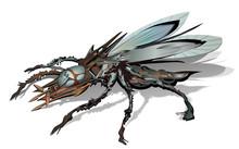 Alien Spacecraft UFO Insect Ve...