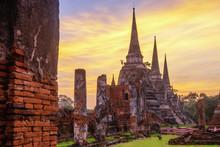 Wat Phra Si Sanphet Is A At Hi...