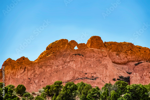 The Kissing Camels Rock Formation At The Garden Of The Gods