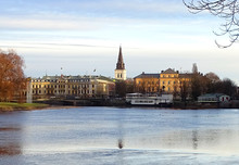 Panoramic View Of Karlstad, Sweden