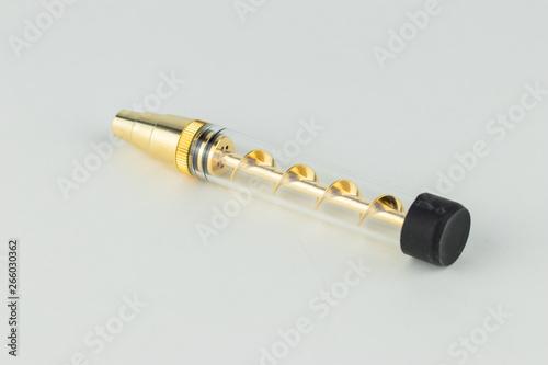Canvas twisty pipe