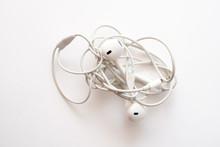 Headphones On A White Backgrou...