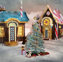 Gingerbread Village With Chris...