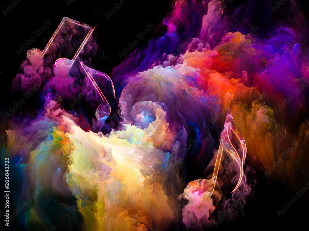 Fototapety, obrazy: Vibrant Song
