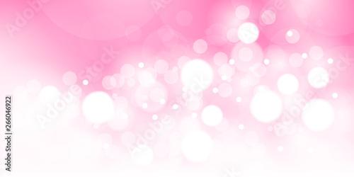 Photo  ピンクの玉ボケのベクター素材
