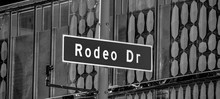 Rodeo Drive Street Sign In Beverly Hills - Travel Photography