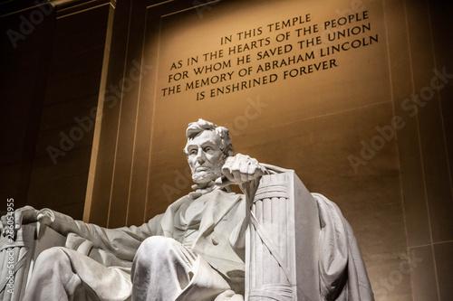 Obraz na płótnie Lincoln memorial