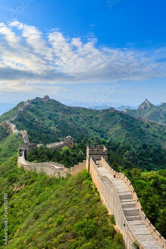 Obraz na plátně The Great Wall of China at Jinshanling