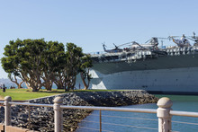 Ship In Port, USS Midway, San Diego California