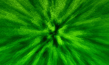 Abstract Background Of Green Rectangular, Square And Cubic, 3D Blocks Style