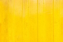 Yellow Paint Wood Wall Texture...
