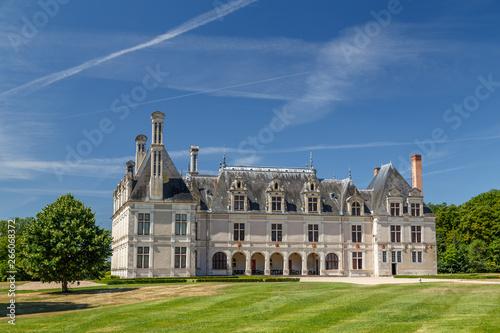 Vászonkép  BEAUREGARD / FRANCE - JULY 2015: View to the royal castle Chateau de Beauregard,