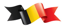 Belgium Flag, Vector Illustrat...