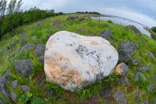 Large Quartz Boulder In The Tu...