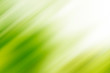 canvas print picture - Abstract green motion blur background with bright light. Nature fresh background.
