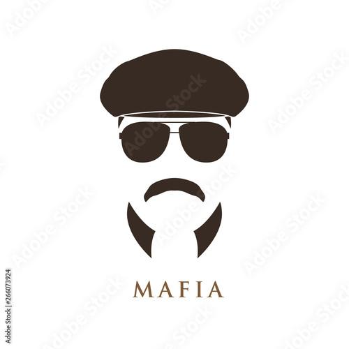 Fototapeta  Mafioso man portrait